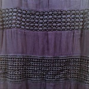 Zara Dresses - NWT ZARA Navy Lace Panel Sleeveless Shift Dress